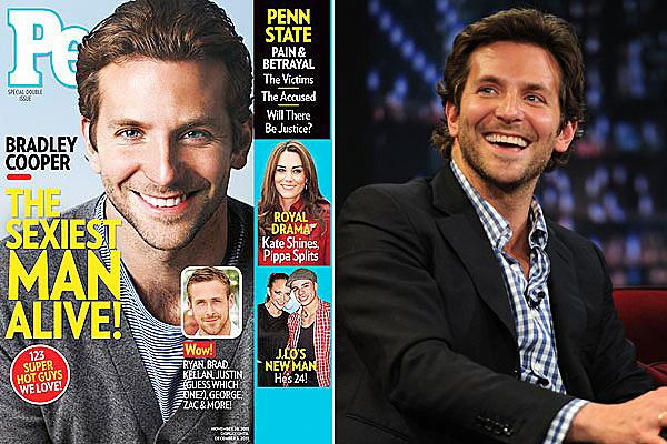 Bradley Cooper, People Magazine's Sexiest Man Alive 2011