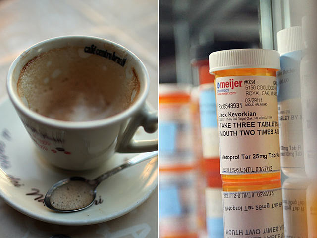 Coffe, medication