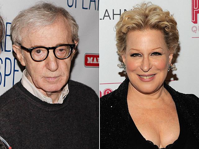 Woody Allen, Bette Midler