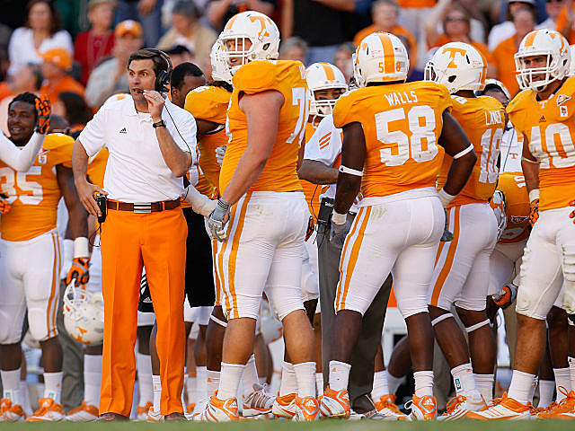 Tennessee coach Derek Dooley had to find a new kicker just minutes before the game.