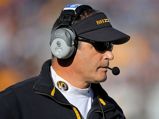 Missouri coach Gary Pinkel was charged with DWI Wednesday night.