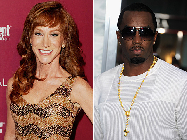 Kathy Griffin, Sean 'Diddy' Combs