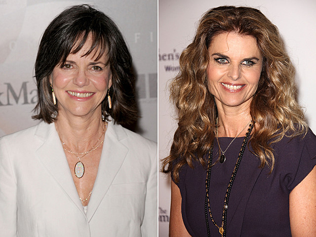 Sally Field, Maria Shriver