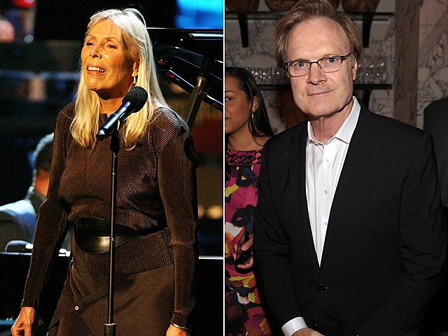 Joni Mitchell, Lawrence O'Donnell