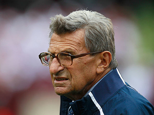 Joe Paterno was fired last week as Penn State's head coach.