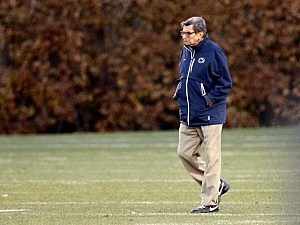 Joe Paterno has coached his last game at Penn State.