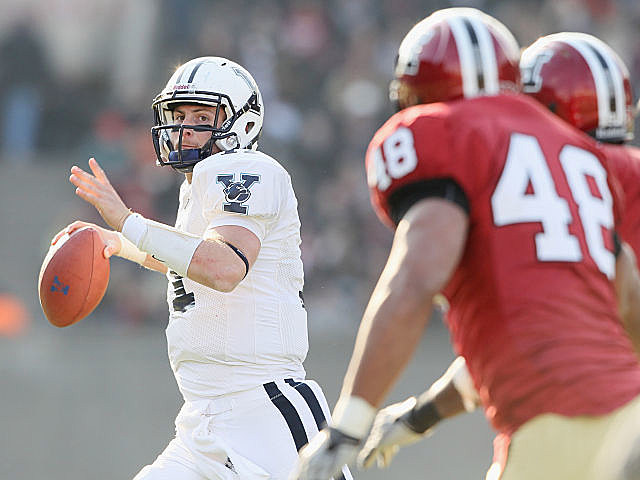 Yale's Patrick Witt turns down a shot at Oxford for one last chance to beat Harvard.