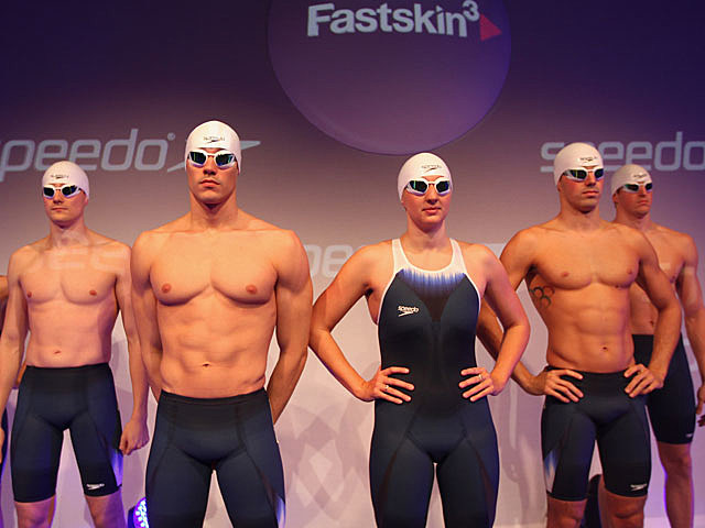 Speedo, shirtless models