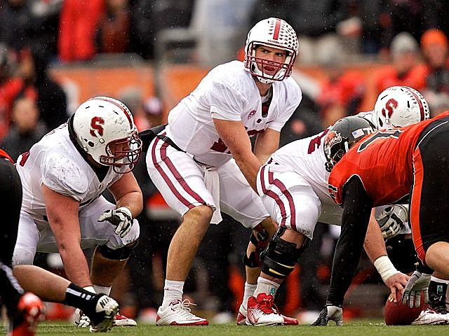 Andrew Luck and the Stanford Cardinal take on Oregon with the nation's longest winning streak--and perhaps a national title shot--on the line.