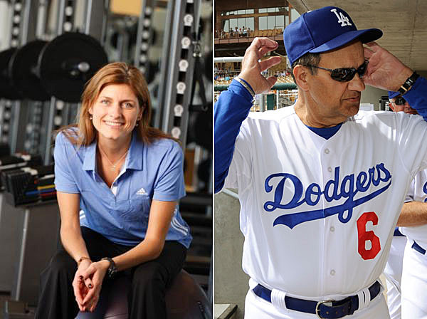 Sue Falsone, Dodgers