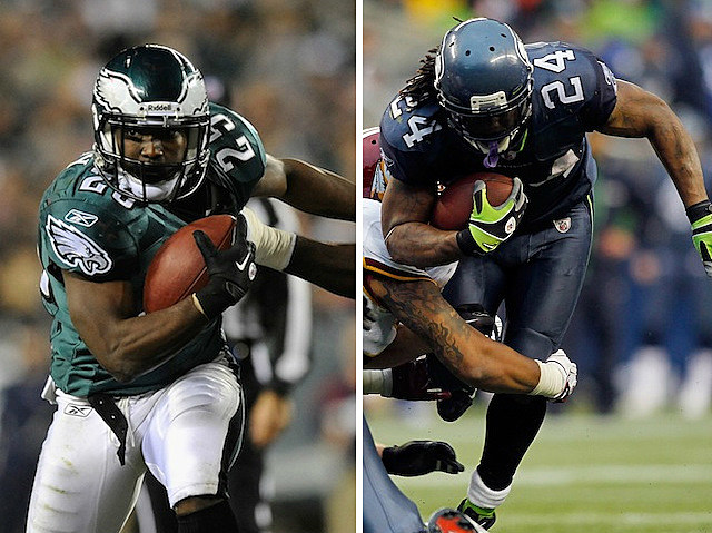 LeSean McCoy and Marshawn Lynch