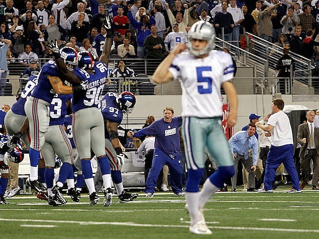 Cowboys Lose on Blocked FG