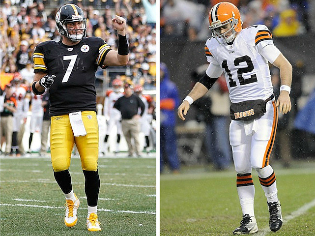 Steelers and Browns