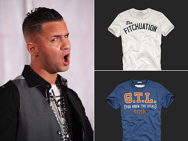 Mike 'the Situation,' Abercrombie & Fitch