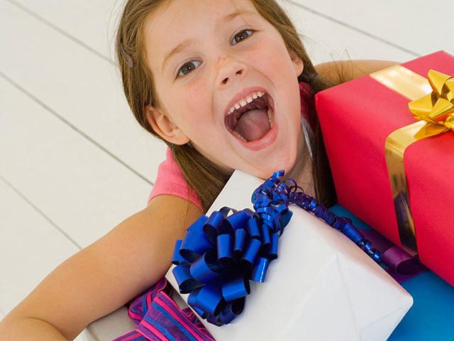 Holidays spoil kids