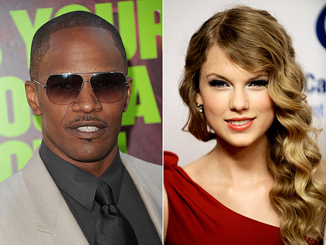 Jamie Foxx, Taylor Swift