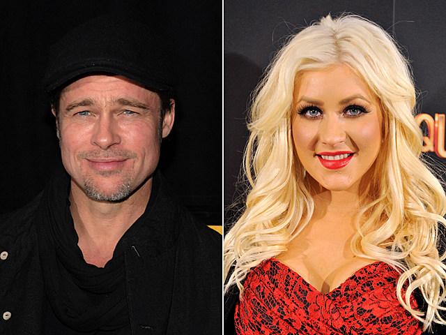 Brad Pitt, Christina Aguilera