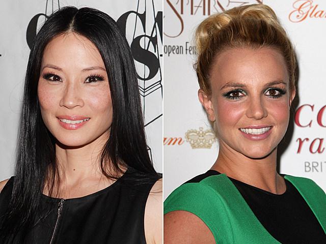 Lucy Liu, Britney Spears
