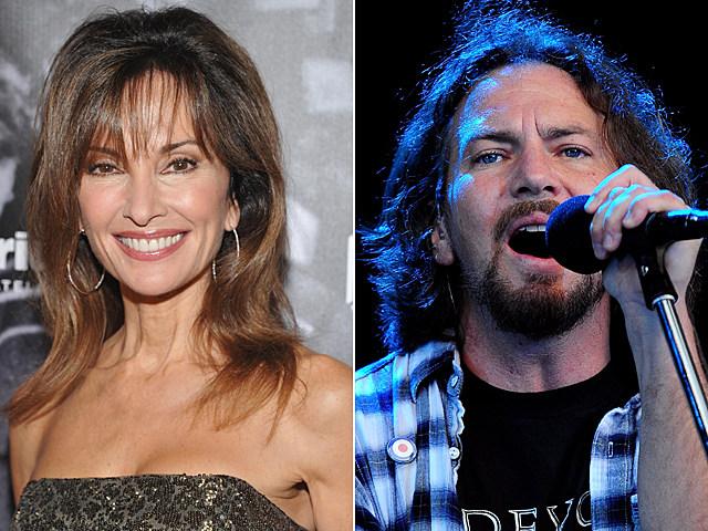 Susan Lucci, Eddie Vedder