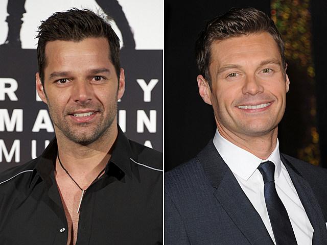 Ricky Martin, Ryan Seacrest