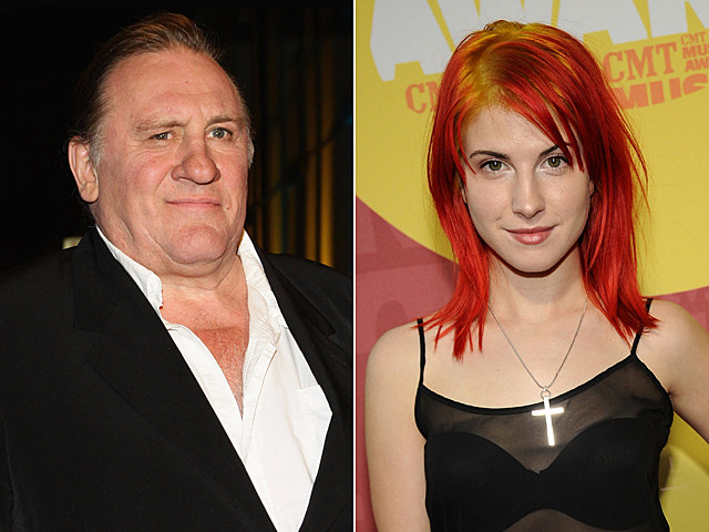 Gérard Depardieu, Hayley Williams