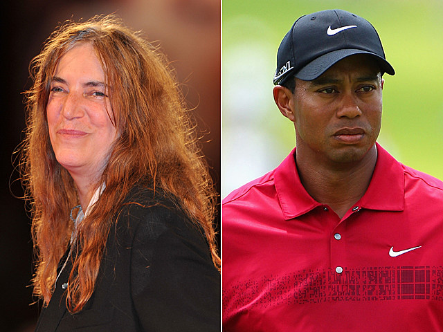 Patti Smith, Tiger Woods