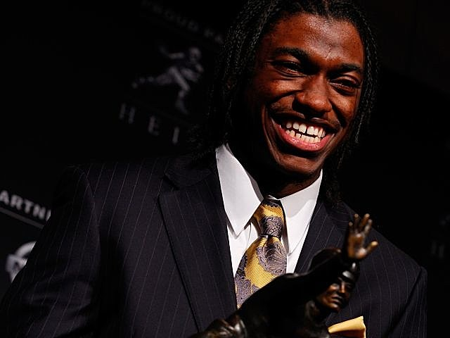2011 Heisman Trophy Winner Robert Griffin III