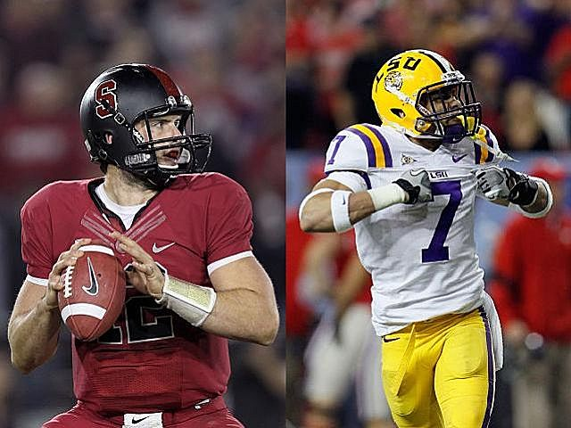 Andrew Luck and Tyrann Mathieu might not win the Heisman, but they won't be going home empty-handed.
