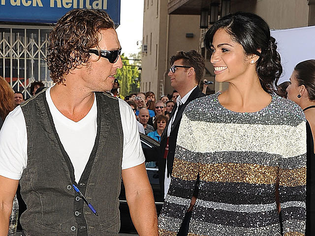 Matthew McConaughey engaged to Camila Alves