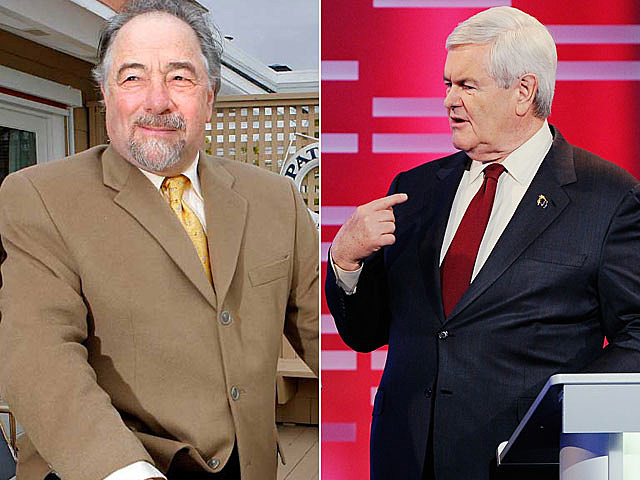 Michael Savage, Newt Gingrich