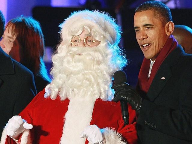 obama and Santa