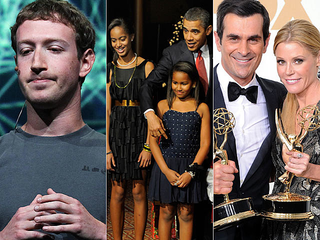 Obama family, Facebook, 'Modern Family'