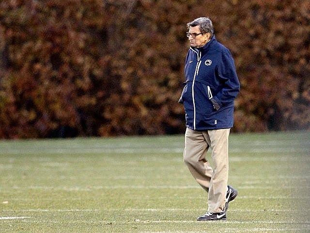 Joe Paterno fired by Penn State.