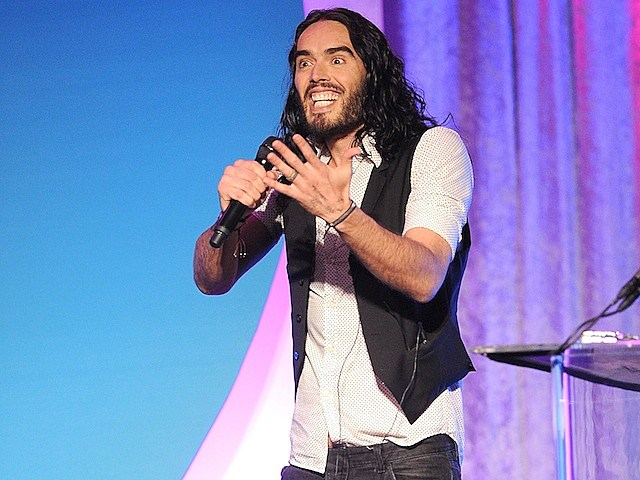 russell brand stand up comic comedy comedian