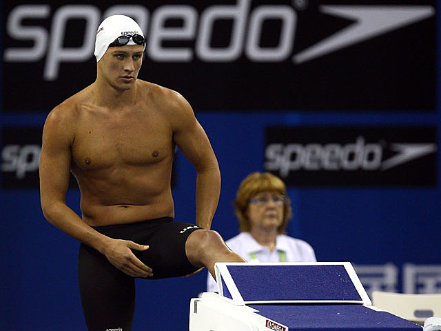 Ryan Lochte shirtless