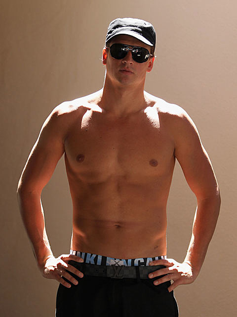 Ryan Lochte shirtless