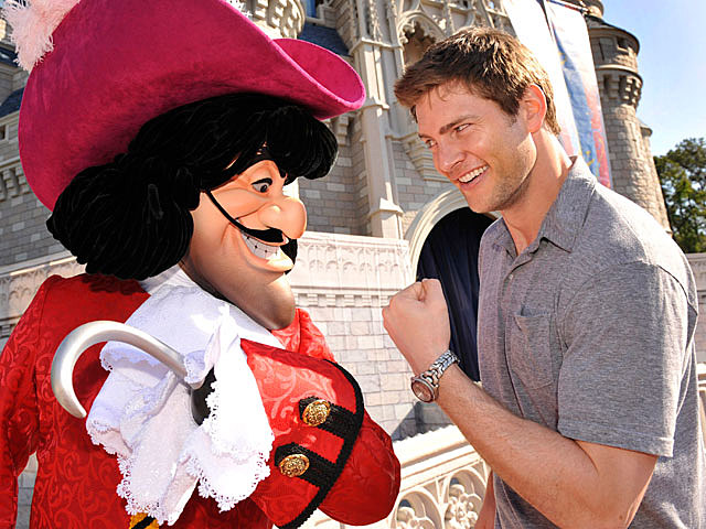Ryan McPartlin at Disney
