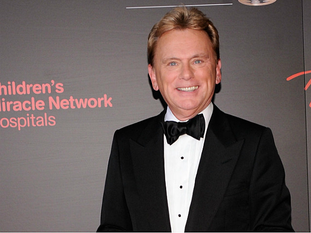 Host of Wheel of Fortune, Pat Sajak