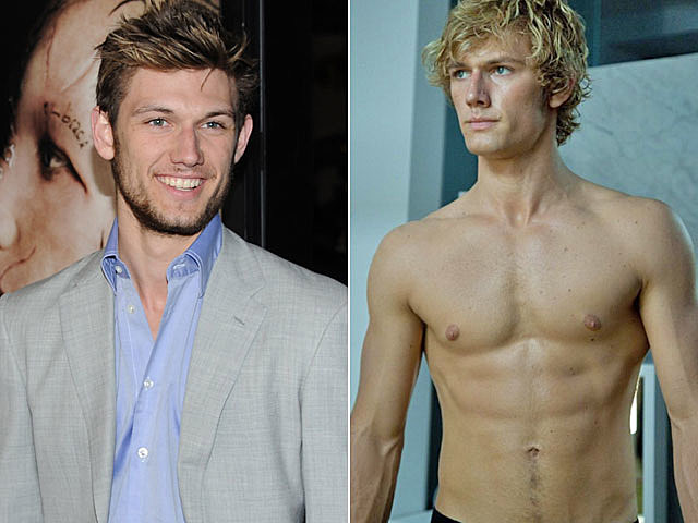 Alex Pettyfer shirtless
