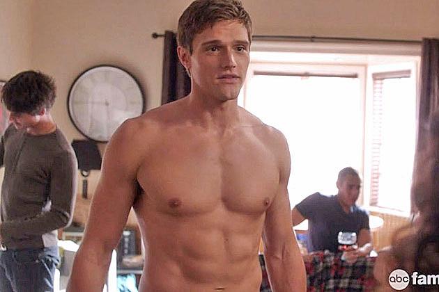 Hartley Sawyer shirtless
