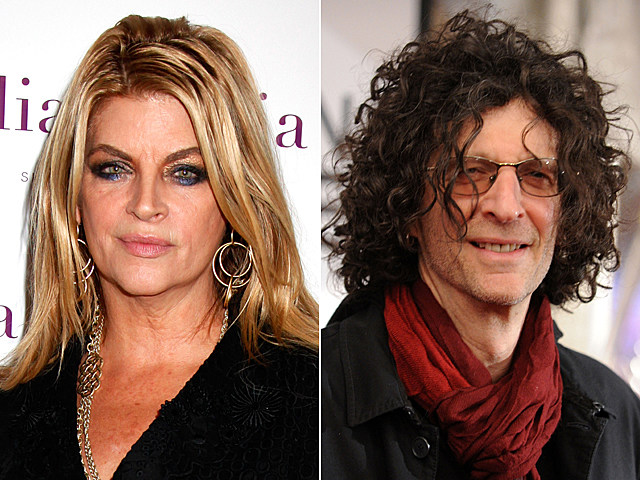 Kirstie Alley, Howard Stern
