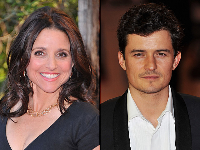 Julia Louis-Dreyfus, Orlando Bloom