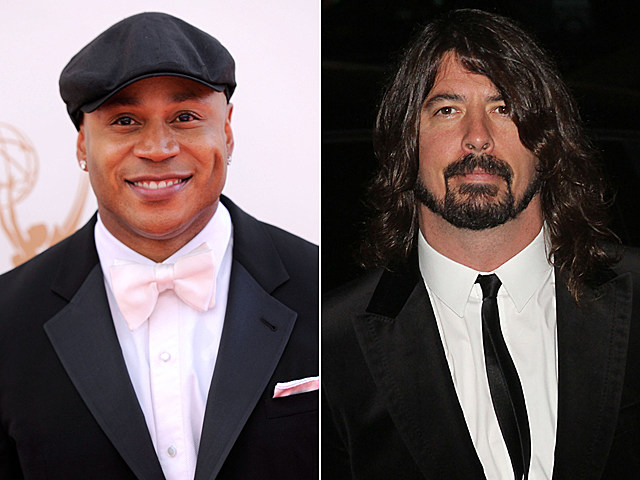 LL Cool J, Dave Grohl