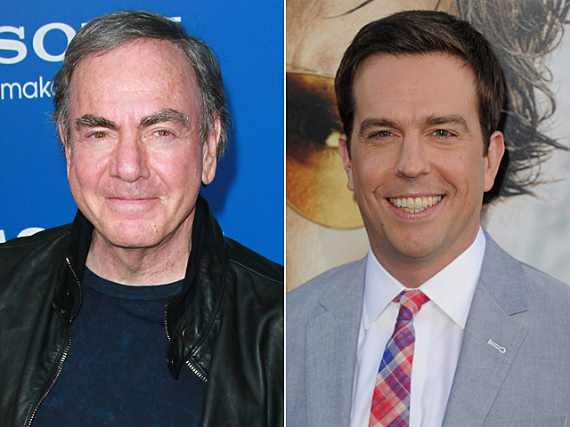 Neil Diamond, Ed Helms