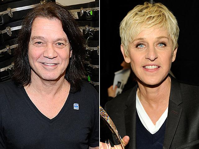 Eddie Van Halen, Ellen DeGeneres
