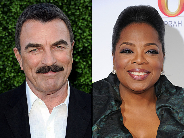 Tom Selleck, Oprah Winfrey