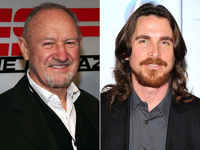 Gene Hackman, Christian Bale