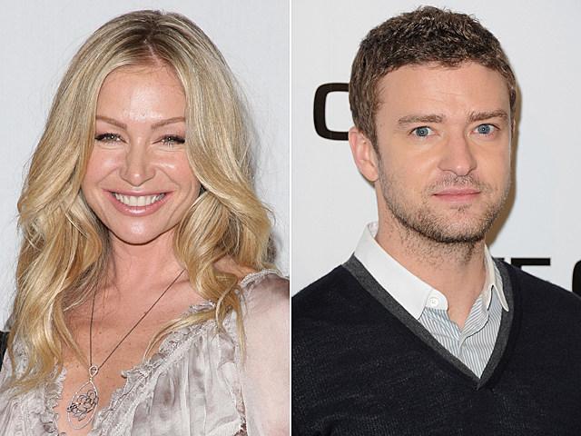 Portia de Rossi, Justin Timberlake