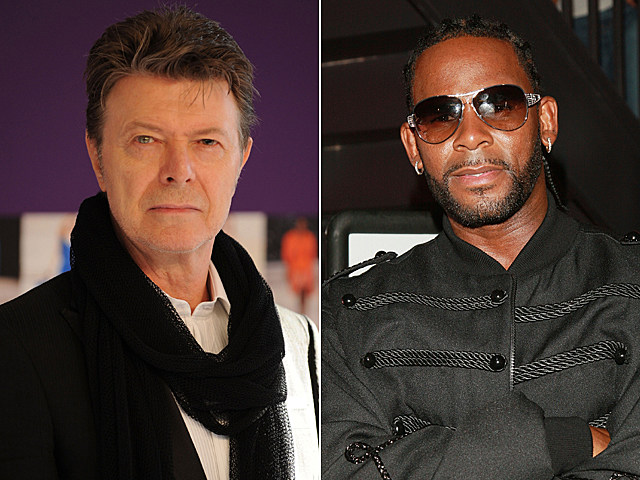 David Bowie, R. Kelly