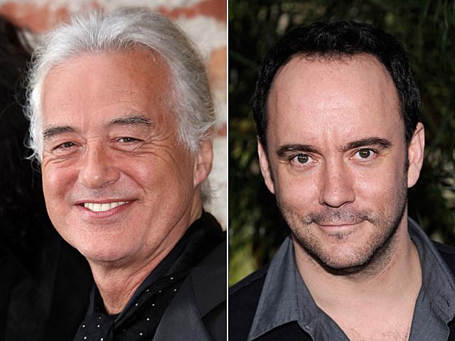 Jimmy Page, Dave Matthews